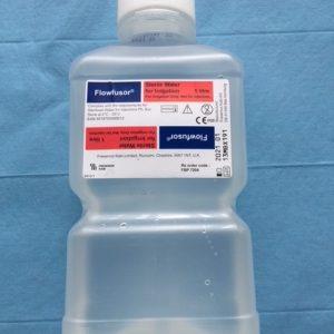 Saline & Sterile Water